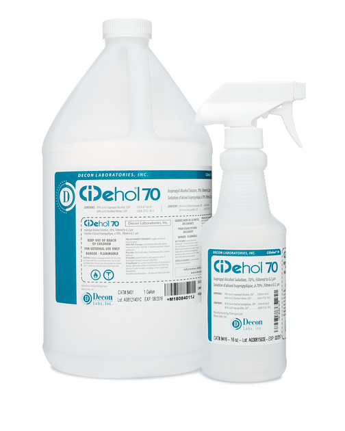 Decon Labs, Sterile Alcohol, Ethanol, Purified Water : DeconLabs