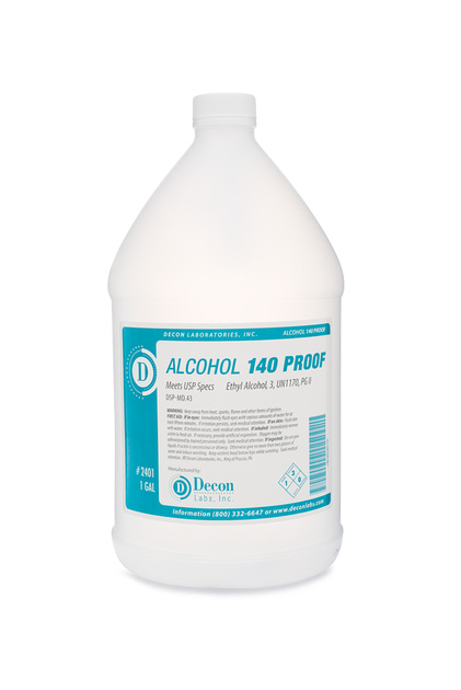 140 Proof 70% Pure Ethanol : DeconLabs
